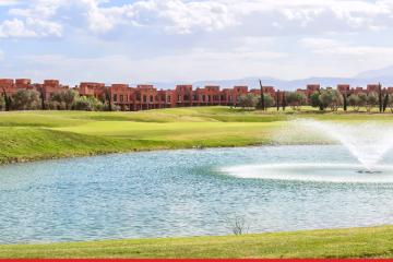 Le projet est composé de 200 villas avec jardin et piscine.