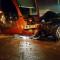 Les dégâts matériels causés par les trois accidents sont importants.