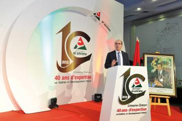 Badr Kanouni, président du directoire du groupe Al Omrane