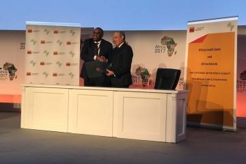 Dr. Benedict Oramah, président d'Afreximbank et Mohamed El Kettani, PDG du groupe Attijariwafa bank
