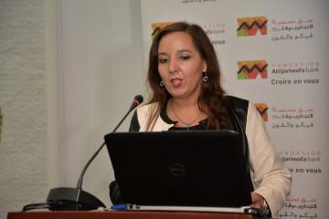 Amina Benamar, responsable de la Fondation Attijariwafa bank pour le Pôle Éducation et Soutien aux Associations