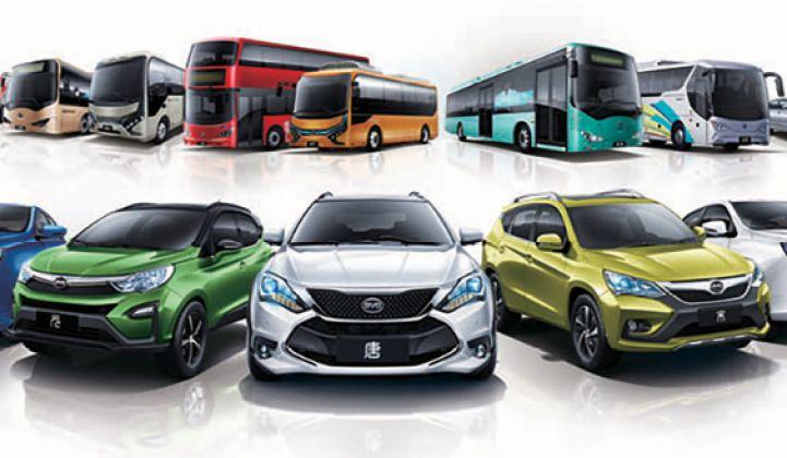 BYD, spécialiste des batteries au lithium fondé en 1995, s'était lancé à partir de 2003 dans l'industrie automobile, en anticipant très tôt l'essor des véhicules électriques.