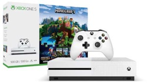 Console Xbox One S Minecraft Limited Edition 1Tb