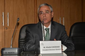 Khalid Cheddaddi, PDG de la CIMR