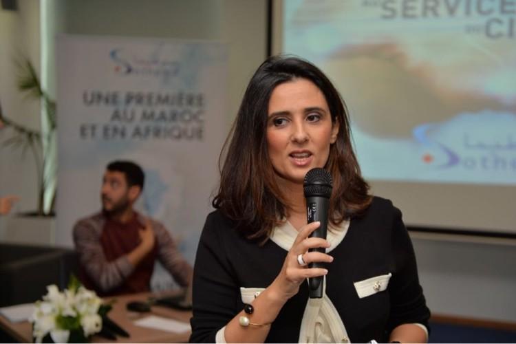 Lamia Tazi, directrice générale des laboratoires Sothema