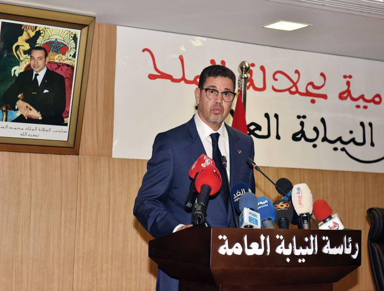 Mohamed Abdennabaoui, procureur général du roi près de la Cour de Cassation et président du Parquet.