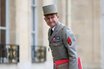 Le général de Villiers,  ex-chef d'État-Major des armées de la France