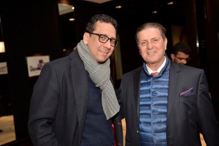 Rafik Lahlou, directeur de publication de VH et Othman Cherif Alami, gérant d'Atlas Voyages