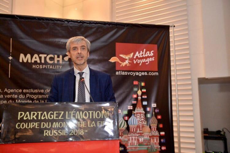 Pascal Portes, directeur général des Opérations de Match Hospitality