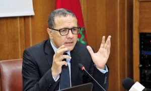 Mohamed Boussaïd, ministre de l'Économie et des Finances.