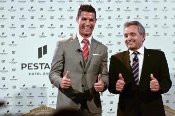 Cristiano Ronaldo et Dionisio Pestana, PDG de Pestana Group