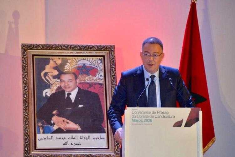 Fouzi Lekjaa, président de la Fédération Royale Marocaine de Football
