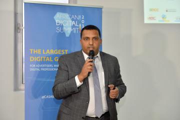 Mounir Jazouli, président du GAM et fondateur de l'African Digital Summit