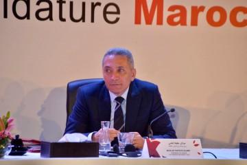 Moulay Hafid Elalamy, président du comité de candidature du Maroc au Mondial 2026