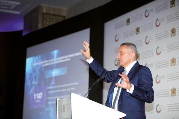 Moulay Hafid Elalamy, ministre de l'Industrie, de l'Investissement, du Commerce et de l'Économie numérique.