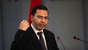 Mustapha El Khalfi, ministre délégué chargé des Relations avec le Parlement et la Société civile, porte-parole du gouvernement