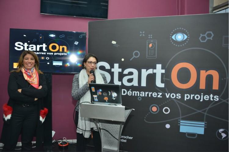 Nadia Mrabi, experte RSE et Zakia Hajjaji, DRH et communication de Orange Maroc
