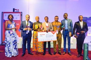 Les lauréats de la deuxième édition de Startup of the year Africa