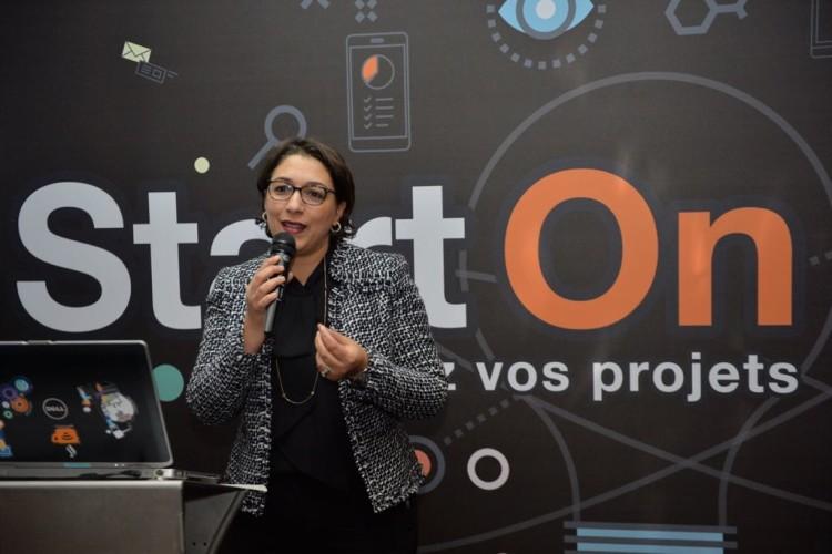 Zakia Hajjaji, DRH et communication de Orange Maroc