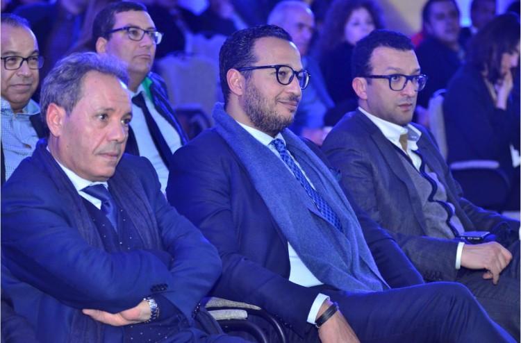 Omar Chaâbi, vice-président exécutif de Ynna Holding et Adil Lahlou, directeur de la publication de Challenge