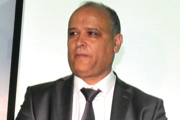 Mohammed Lacham,  DG d'Afrique Câbles.