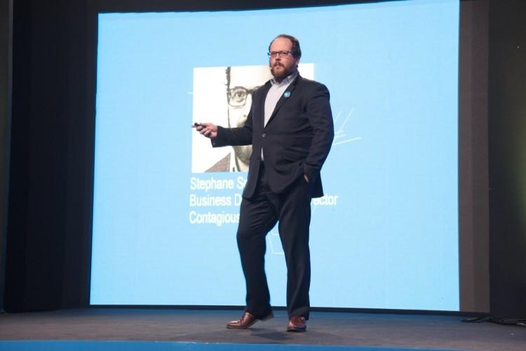Stephane Scheyven, Business Developement Director de Contagious (Belgique)