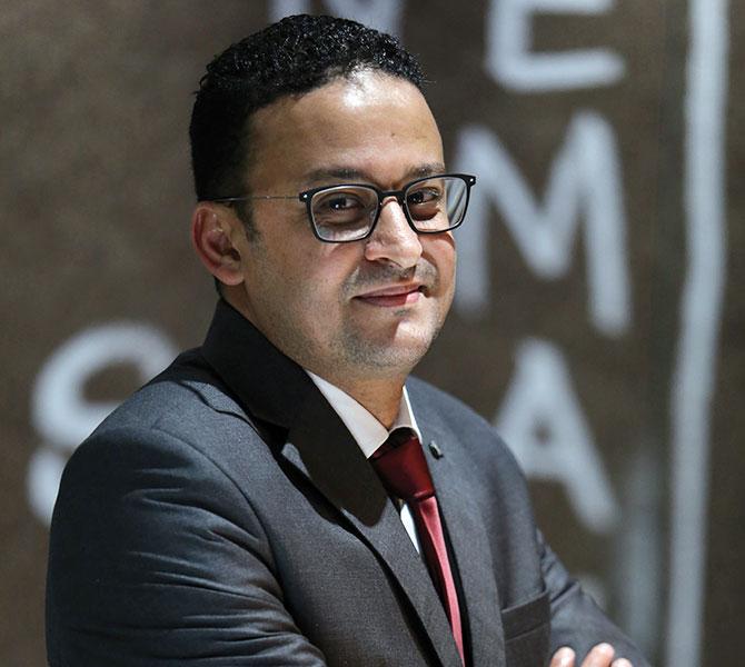 Anass Radi, président de l'AMCF