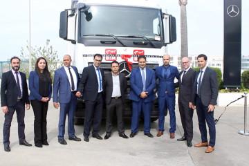 Cérémonie de signature de partenariat de Mercedes Trucks et BIM.