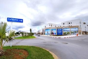 La Marina Morocco, projet à usage mixte, bénéficie de son emplacement idéal au cœur de l'agglomération Rabat-Salé.