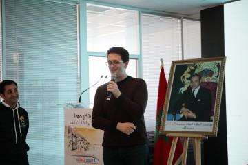 Omar Amrani, Head of Innovation et Mehdi Alaoui, fondateur de LaFactory