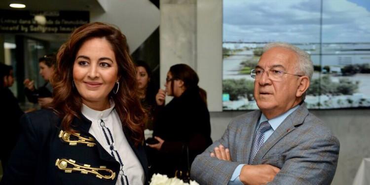 Zhor Kabbaj, DG de SoftGroup Immobilier et Mohamed Kabbaj, PDG de SoftGroup