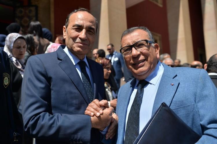 Habib El Malki, président de la Chambre des représentants et Kamal Lahlou