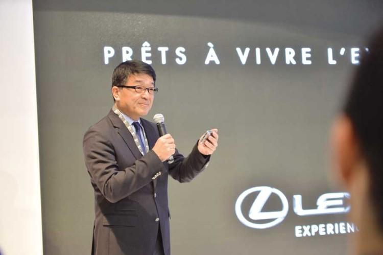 Toshimitsu Imai, CEO de la région Afrique de Toyota.