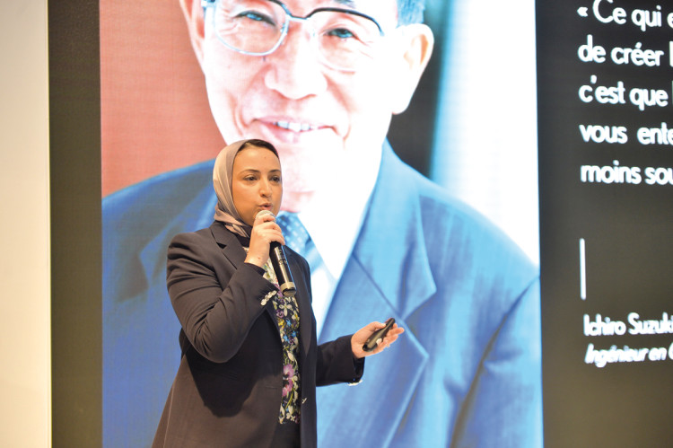 Salma Moukbil, DG de Toyota Maroc.