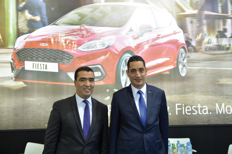 Abdelouahab Ennaciri, DG de Scama et Achraf El Boustani, DG de Ford Afrique du Nord.