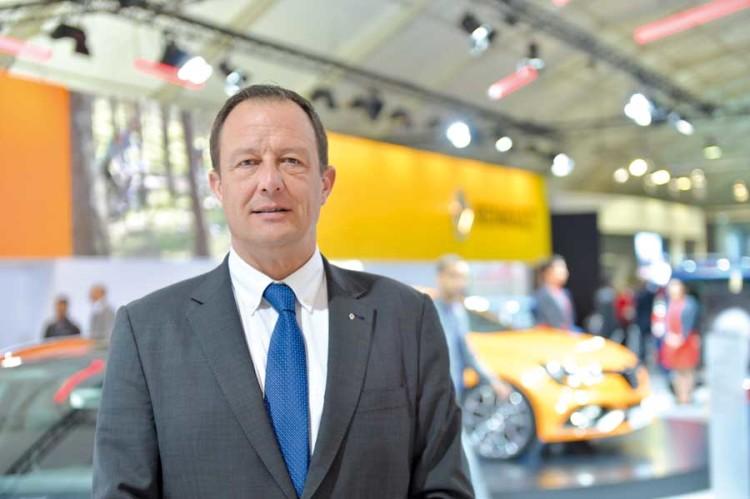 Eric Basset, DG de Renault Commerce Maroc.
