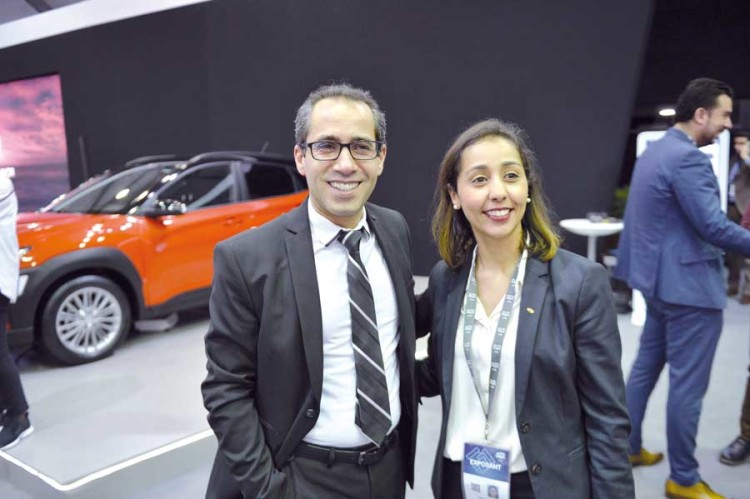 Nassereddine Oubada, gérant unique de Bugshan Maroc Group et Sofia Sebbar, directrice communication et marketing de Hyundai Maroc.
