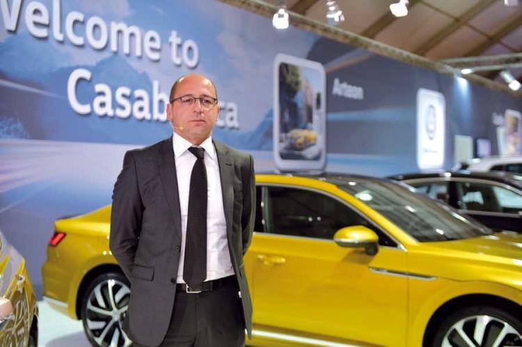 Youssef Touhami, directeur de Volkswagen Maroc.