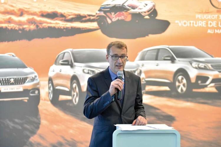 Patrick Houdebine, Brand Manager de Peugeot Moyen-Orient et Afrique.