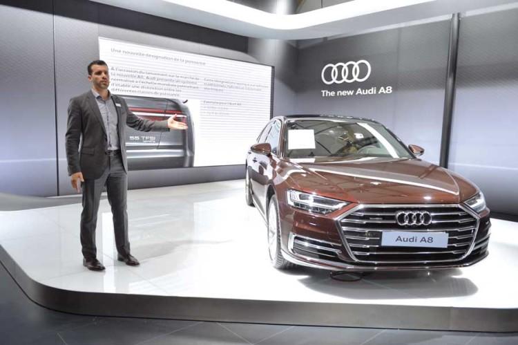 Mehdi Laghzaoui, directeur de Audi Maroc.
