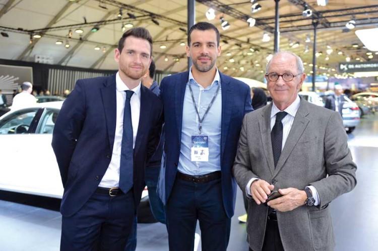 Mehdi Laghzaoui, directeur de Audi Maroc et Victor Elbaz, Centrale Automobile Chérifienne.