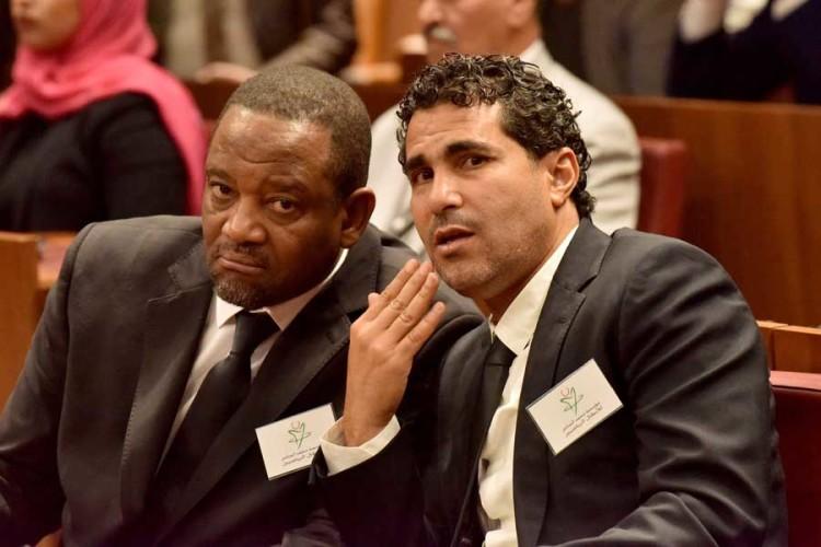 Mohamed Timoumi et Salaheddine Bassir