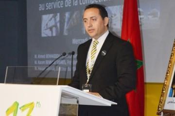 Hassan Abkari, directeur du port Tanger Med passagers et rouliers