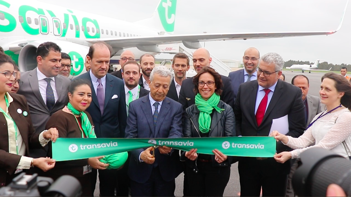 une nouvelle connexion paris rabat pour transavia france. Black Bedroom Furniture Sets. Home Design Ideas
