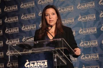 Neila Tazi, présidente du comité ad-hoc pour la Fédération des Industries Culturelles et Créatives