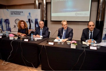 Hajar Allali, SG, Tawfiq Drhimeur, directeur général délégué, Zouheir Bensaid, CEO et Samir Baali, directeur général adjoint en charge des Finances de RMA