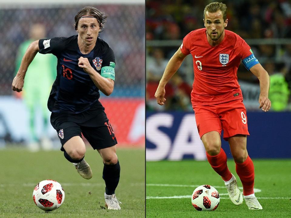 Angleterre-Croatie : deux générations, une place en finale du Mondial 2018