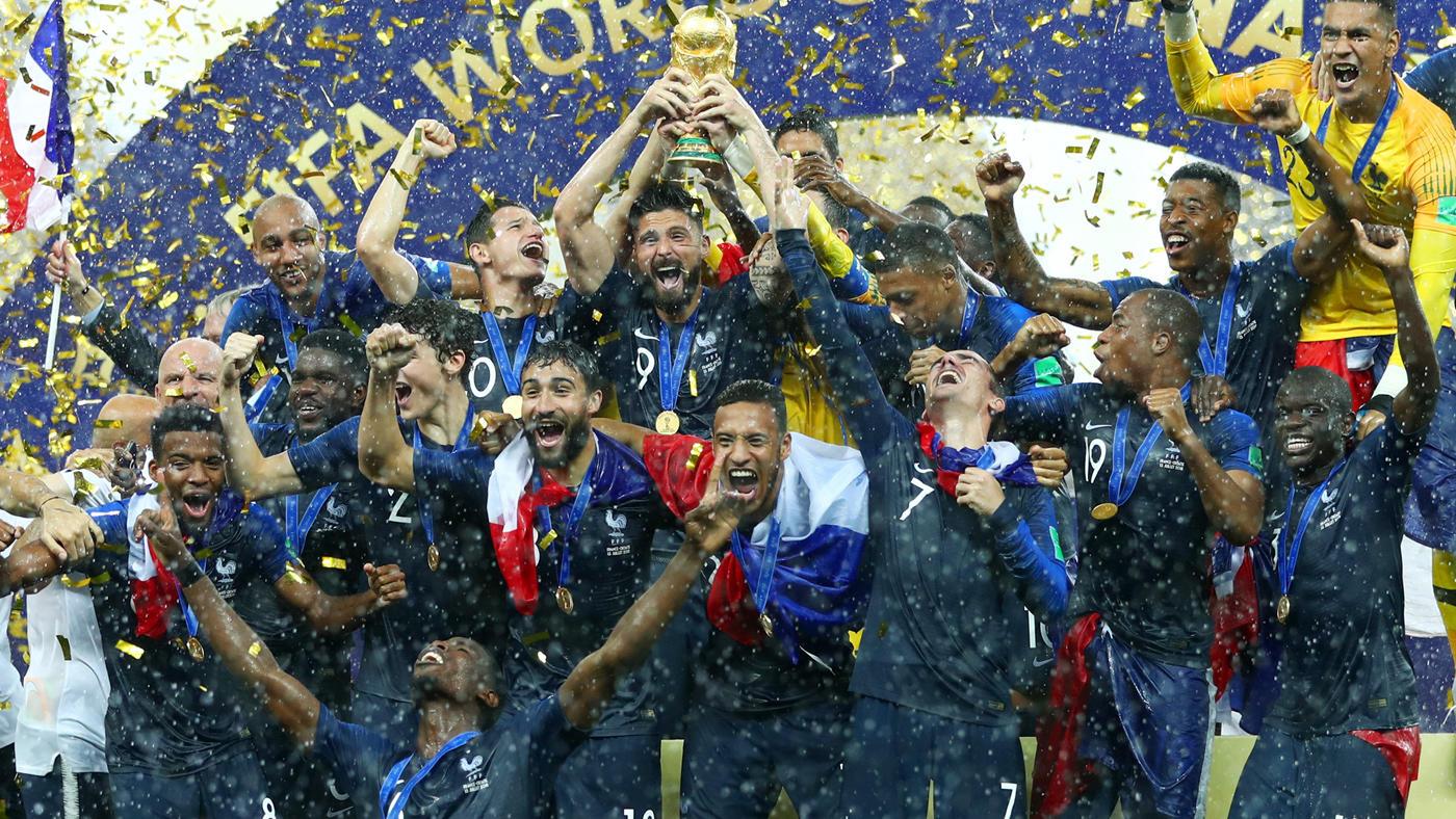 La France remporte le deuxième Mondial de son histoire