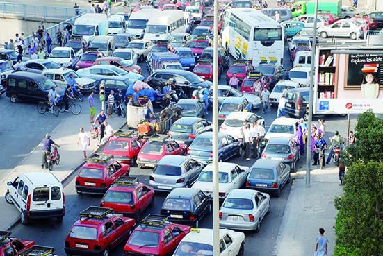Casablanca : la circulation très perturbée par les travaux | Challenge.ma