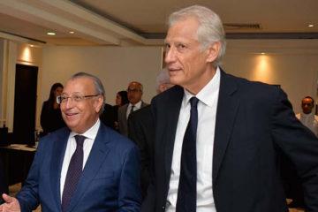Mohamed Benamour, président du CDS et Dominique DE VILLEPIN, ancien Premier Ministre de la République Française
